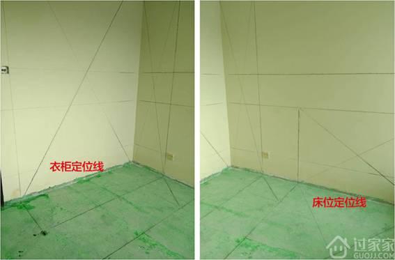 工艺节点4:开工进场,实施第一、二步标准放线