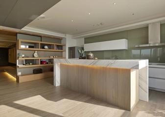 现代风三居室设计欣赏厨房吧台