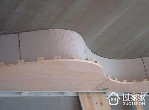 弧形吊顶怎么施工 弧形吊顶施工工艺及步骤