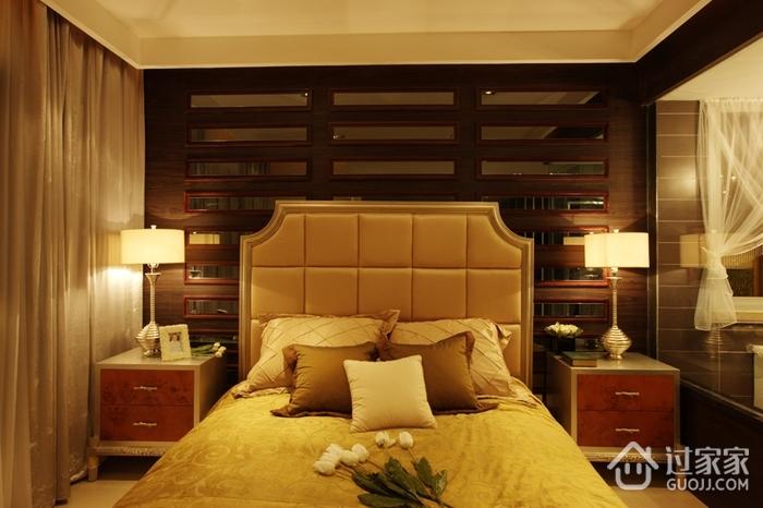 现代美式家装的清新格调卧室效果