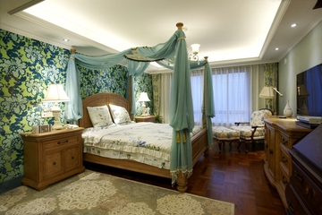 98平米混搭舒适住宅欣赏卧室效果