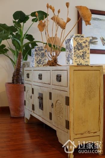 东南亚风格三居室欣赏电视柜