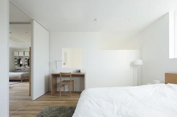 112平日式风格住宅欣赏卧室摆件