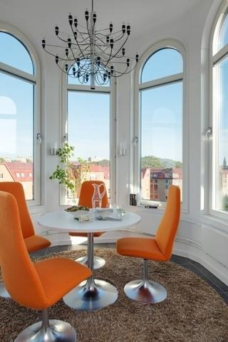 北欧夏日风情住宅欣赏阳台