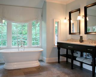 浪漫法式风情别墅欣赏卫生间