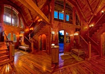 美式风格别墅效果图玄关设计