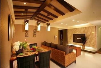66平东南亚风格住宅欣赏