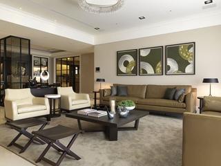 简约家装两居室设计欣赏客厅