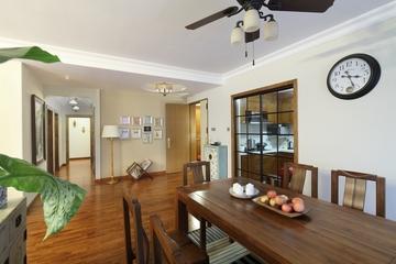 东南亚风格三居室欣赏餐厅餐桌