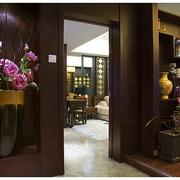 中式风木质门