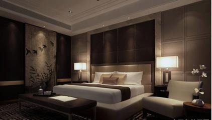 110平中式风格三居欣赏卧室