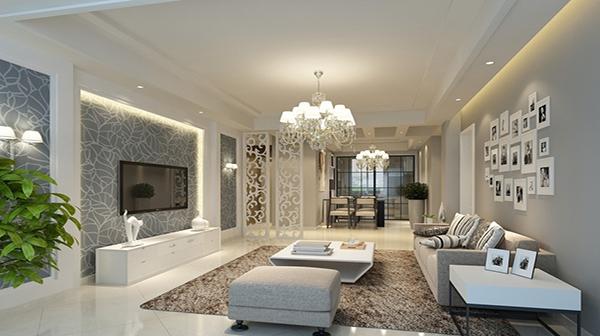 客厅电视背景墙装修使用硅藻泥有哪些好处?