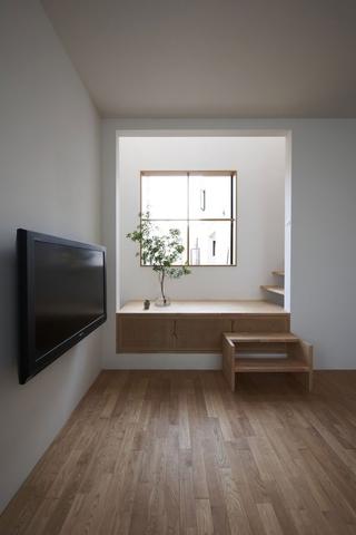 日式原装极简住宅欣赏客厅