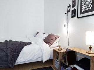43平宜家单身公寓欣赏卧室