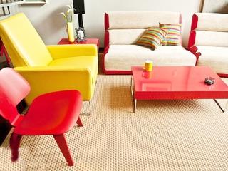 绚丽色彩打造时尚住宅欣赏
