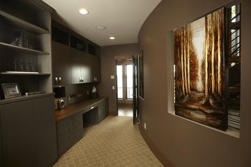 简约风格别墅效果套图欣赏卧室过道