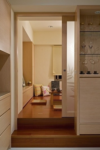 122平简约三居室欣赏卧室榻榻米