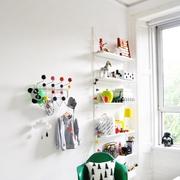 素色不失文艺的简约公寓欣赏卧室