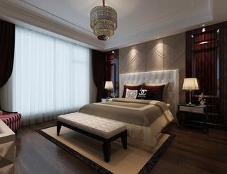 新古典大四居住宅欣赏卧室灯饰