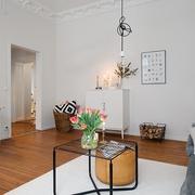 60平北欧舒适公寓欣赏客厅效果