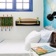 耀眼多彩现代小户型别墅欣赏卧室设计
