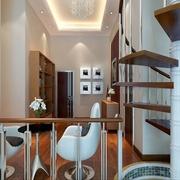 标准现代风格复式楼欣赏过道设计