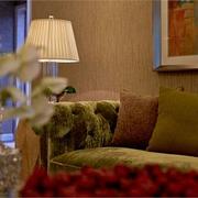 现代简约样板房客厅灯具