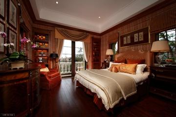 220平奢华美式别墅欣赏卧室效果图