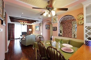 曼妙时光美式住宅欣赏餐厅设计