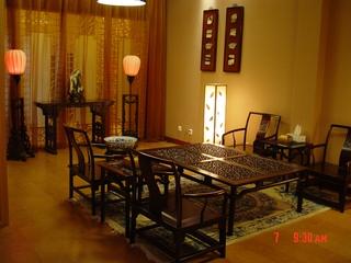 中式风格客厅仿古家具图片