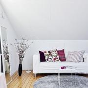 30平单身公寓简约住宅欣赏客厅