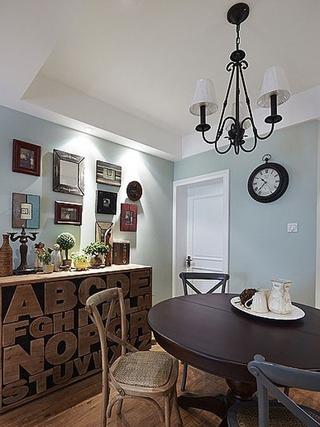 90平三室两厅住宅欣赏餐厅设计