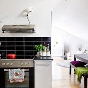 30平单身公寓简约住宅欣赏厨房