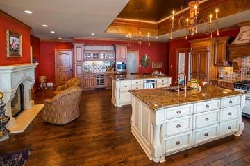 美式别墅装饰欣赏厨房设计