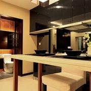 现代日式风厨房橱柜