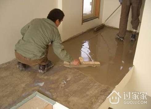 水泥自流平施工工艺及注意事项