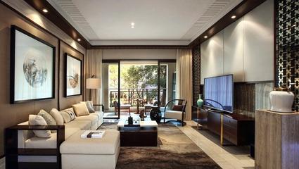 130平新中式三居室装修案例