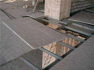 水泥纤维板的安装方法