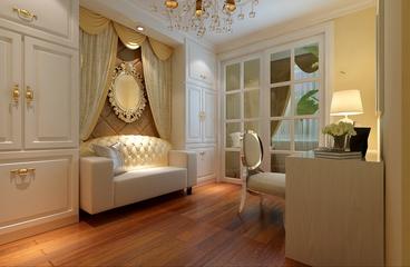温馨简欧风格住宅欣赏卧室局部