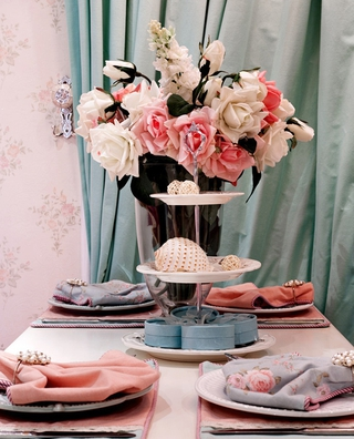 奢华欧式精装住宅欣赏餐厅餐桌