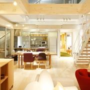 清新MIUI复式楼欣赏餐厅设计