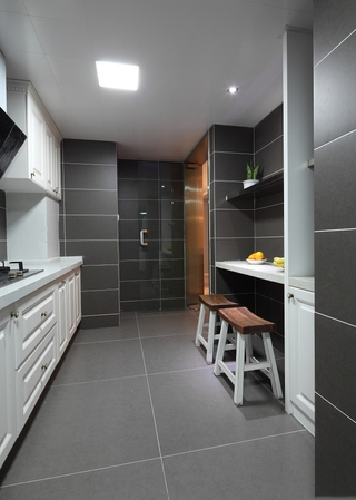 98平美式温馨住宅欣赏厨房