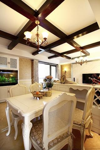 100平米三室两厅欣赏餐厅设计