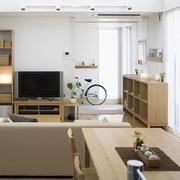 清爽日式三居室欣赏
