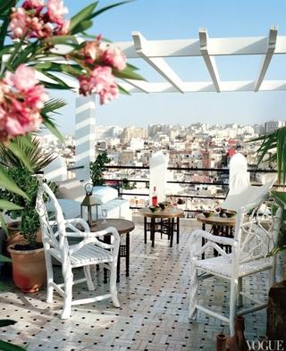法式田园别墅欣赏阳台