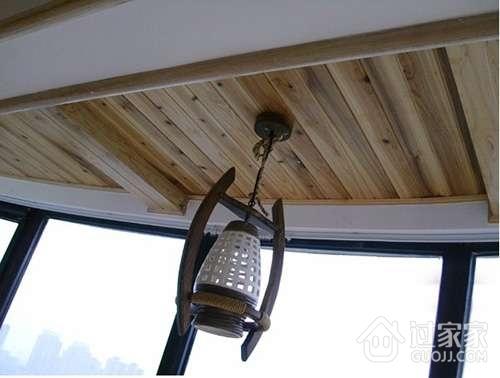 阳台吊顶用桑拿板好吗?桑拿板阳台吊顶知识全解