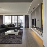 现代风三居室设计欣赏客厅吊顶设计