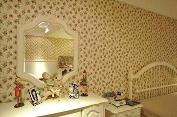 119平简欧复式住宅欣赏卧室局部