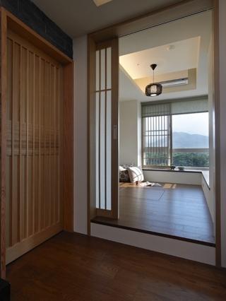 110平日式风格住宅欣赏卧室设计