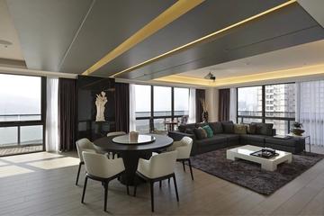 现代风三居室设计欣赏